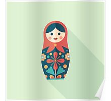Russian Nesting Doll Poster