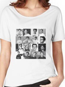 Tyler Posey & Dylan O'brien collage Women's Relaxed Fit T-Shirt