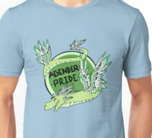 Agender Pride - Central American Dragon Unisex T-Shirt