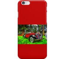 1935 Auburn Boattail Speedster iPhone Case/Skin