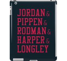 Obviously the Best Starting Lineup iPad Case/Skin