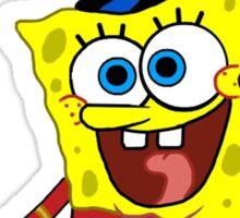 That's His Eager Face - Spongebob Sticker