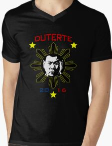Duterte Rodrigo Mens V-Neck T-Shirt