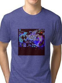 Spring Garden Psychedelic Homestead Tri-blend T-Shirt