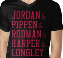 Obviously the Best Starting Lineup Mens V-Neck T-Shirt