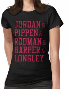 Obviously the Best Starting Lineup Womens Fitted T-Shirt