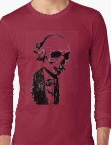 HIPSTERSKULL Long Sleeve T-Shirt