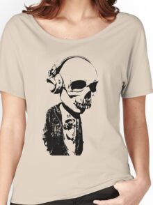 HIPSTERSKULL Women's Relaxed Fit T-Shirt
