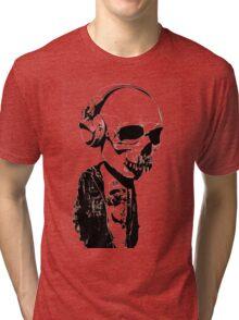 HIPSTERSKULL Tri-blend T-Shirt