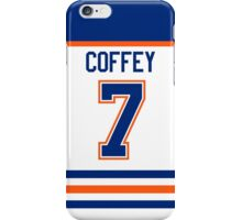 Edmonton Oilers Paul Coffey Jersey Back Phone Case iPhone Case/Skin