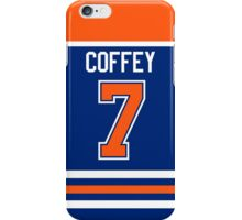 Edmonton Oilers Paul Coffey Away Jersey Back Phone Case iPhone Case/Skin