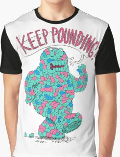 KEEP POUNDING Graphic T-Shirt