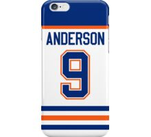 Edmonton Oilers Glenn Anderson Jersey Back Phone Case iPhone Case/Skin