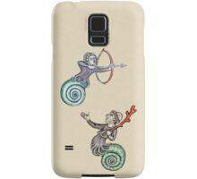 Strange Medieval Duelling Man-Snails Samsung Galaxy Case/Skin