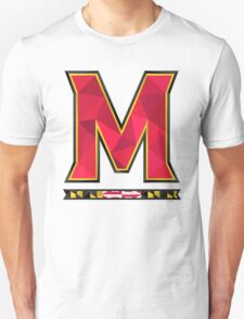 University of Maryland Geometric Logo Unisex T-Shirt
