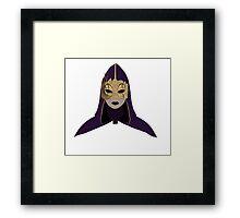 Hellequin Minimalist Framed Print