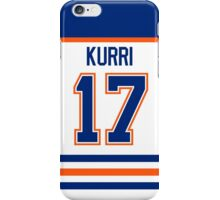 Edmonton Oilers Jari Kurri Jersey Back Phone Case iPhone Case/Skin