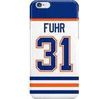 Edmonton Oilers Grant Fuhr Jersey Back Phone Case iPhone Case/Skin