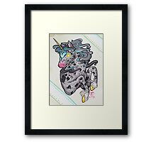 Heart Headed Horse Framed Print