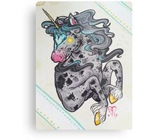 Heart Headed Horse Metal Print