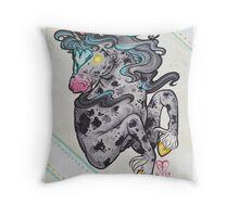 Heart Headed Horse Throw Pillow