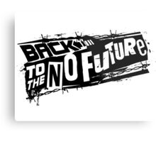 Back to the No future Metal Print