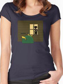 "Pokemon Pikachu ""Peekatchu"" Women's Fitted Scoop T-Shirt"