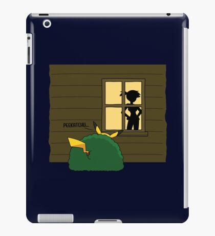 """Pokemon Pikachu """"Peekatchu"""" iPad Case/Skin"""