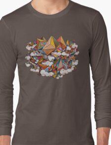 Paper Mountain Long Sleeve T-Shirt