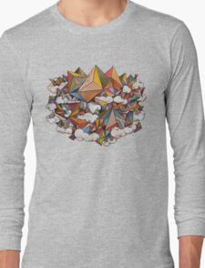 Paper Mountain Long Sleeve T-Shirt