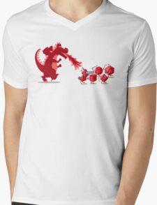 Rolling into Battle Mens V-Neck T-Shirt