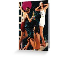 Girl Time beer Greeting Card