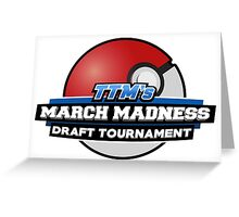 TheTokenMinorities March Madness Draft Tournament Logo Greeting Card