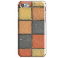 Colorful Square Sidewalk Tiles iPhone Case/Skin