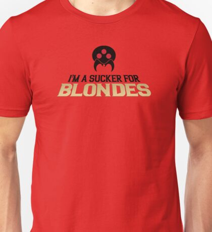 Metroid Sucker for Blondes Unisex T-Shirt