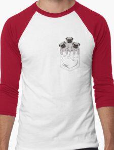Pocket Pug Men's Baseball ¾ T-Shirt