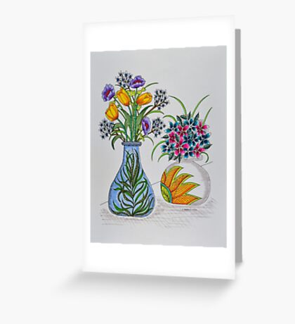 Flowers/10 - Tulips and More Greeting Card
