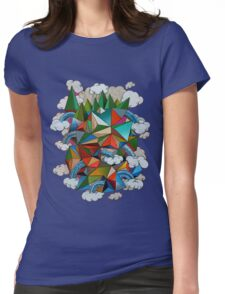 Flying Forest Womens Fitted T-Shirt