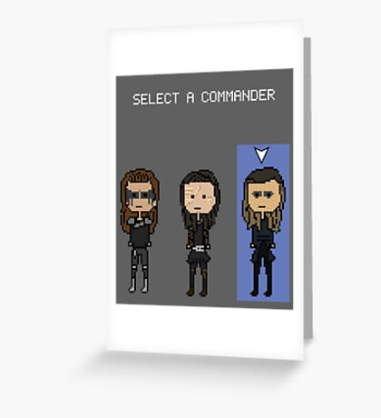 Select Commander Anya Greeting Card