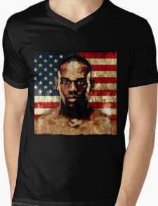 jon bones jones Mens V-Neck T-Shirt