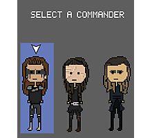 Select Commander Lexa Photographic Print