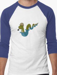 Sherloch Ness Monster Men's Baseball ¾ T-Shirt