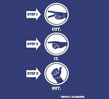 Cut It Out Unisex T-Shirt