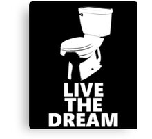 Live the Dream Canvas Print