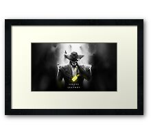 Twisted Fate Framed Print