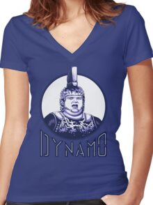 Dynamo Women's Fitted V-Neck T-Shirt