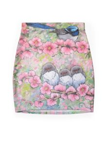 Blossom Family Mini Skirt
