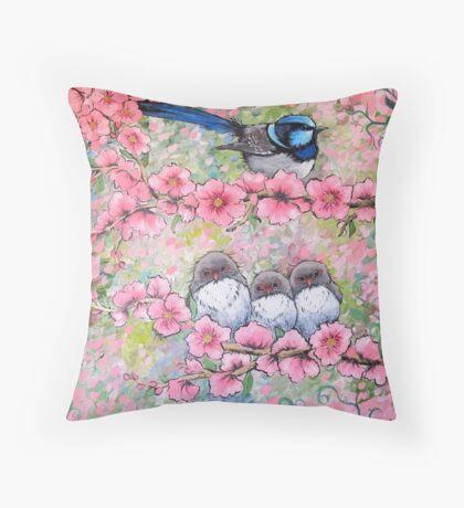 Blossom Family Throw Pillow