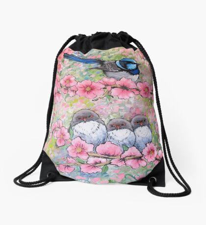 Blossom Family Drawstring Bag