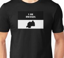 I AM RWANDA (Map) (Original) Unisex T-Shirt